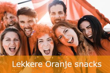 Nederland EK Oranje snacks