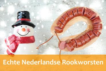 Nederlandse rookworsten online