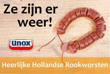 Nederlandse rookworsten webshop