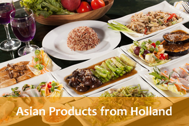Dutch asian supermarket products