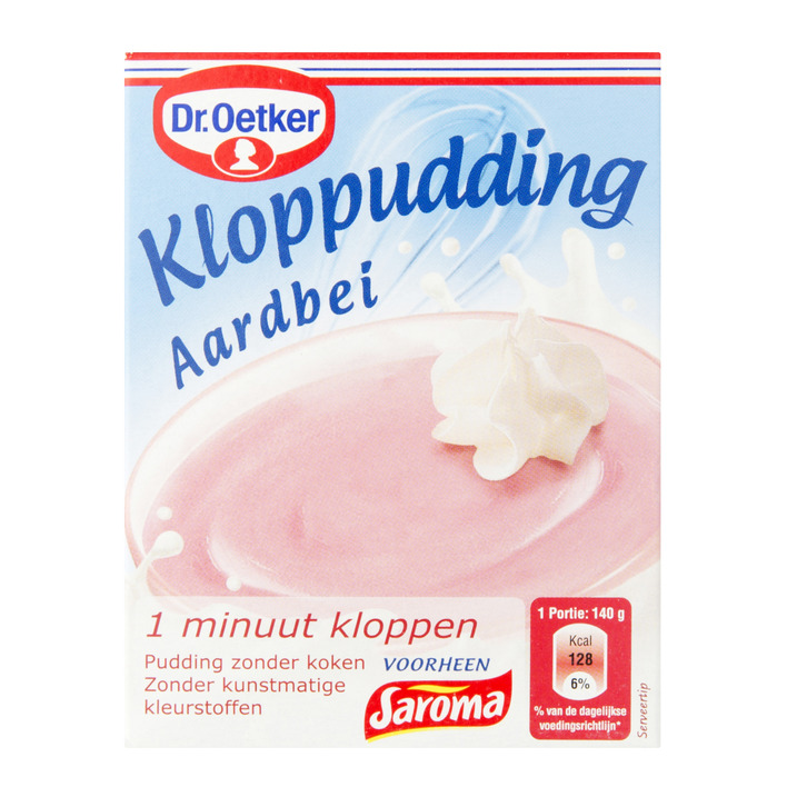 Dr Oetker Pudding Strawberry