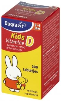 Dagravit Kids Vitamin D Tablets