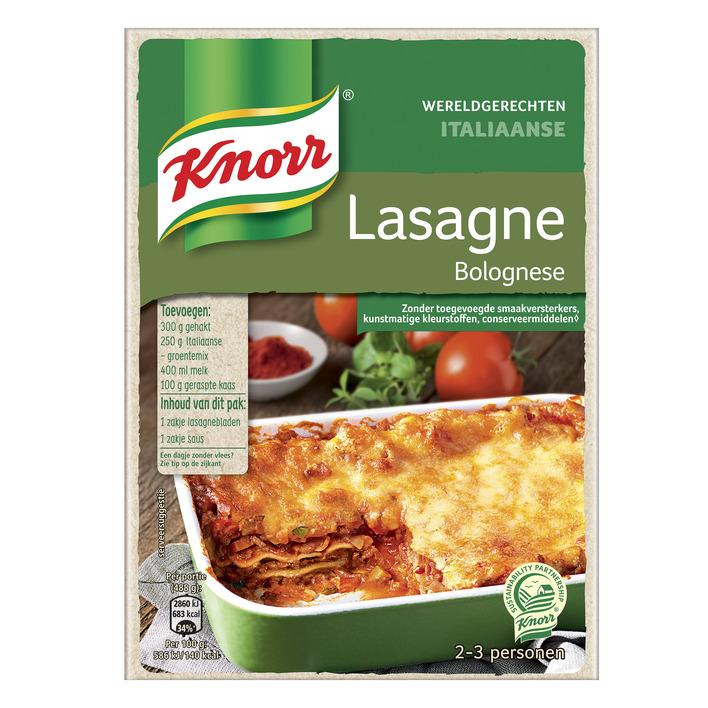 Knorr Wereldgerecht Italiaanse Lasagne Bolognese