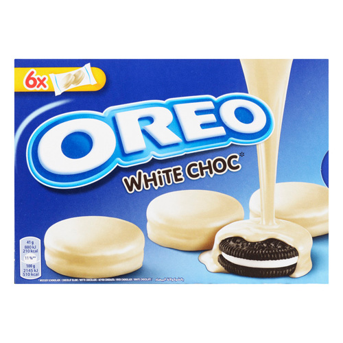 Oreo Biscuits White Chocolate 6x2 Pieces