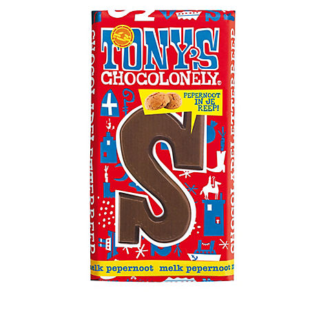 tony s chocolonely chocolate letter s milk and ginger nuts