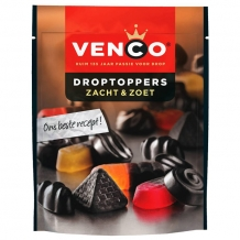Venco Droptoppers Soft  & Sweet (287 gr.)