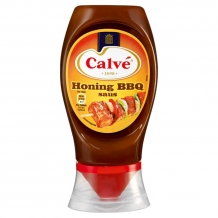Calvé Honing-barbecuesaus topdown (250 ml.)
