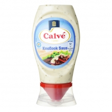 Calvé Knoflooksaus topdown (250 ml.)
