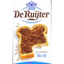 De Ruijter Chocolate Sprinkles Milk (380 gr.)