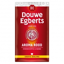 Douwe Egberts Aroma rood grove maling (250 gr.)