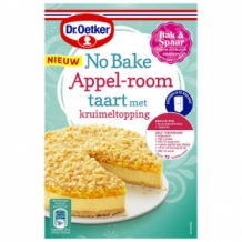 Dr. Oetker No Bake Appel-Room Taart