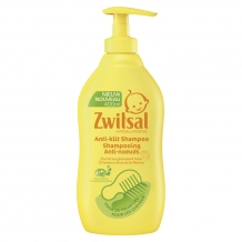 Zwitsal Shampoo anti-klit pomp (400 ml.)